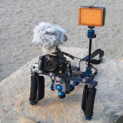 Bryllupsvideo og kamera support/-støtte